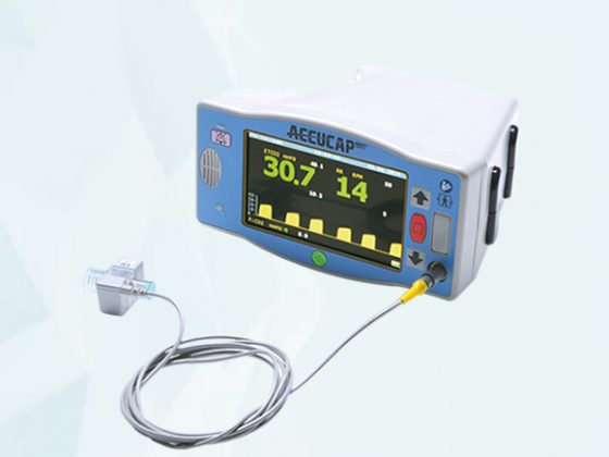 accucap901 digital capnography monitoring