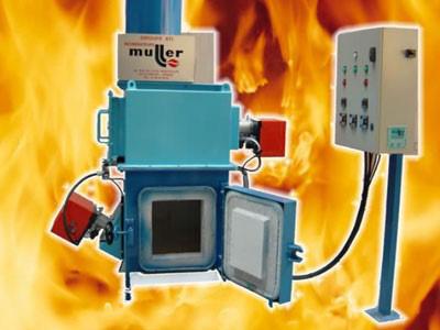 Incinerators model CP10