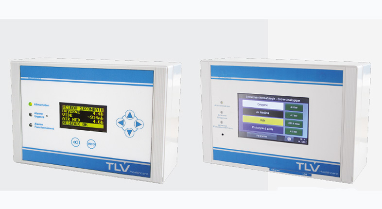 medical gases monitoring tlv