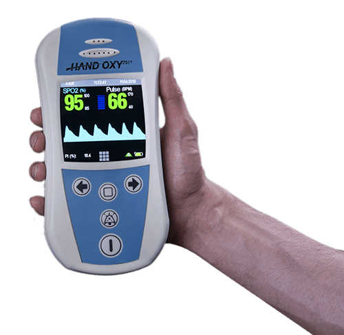 handoxy701 digital pulseoximeter for use in - پالس اکسیمتر دیجیتال